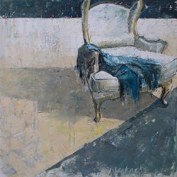 """Cuddle Up, oil on canvas, 50"""" x 50"""", $5,000, Anne Harkness - Uploaded by providenceart"""