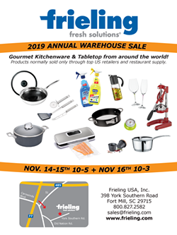 2019 Warehouse Sale - Uploaded by Emily Crespo - Frieling