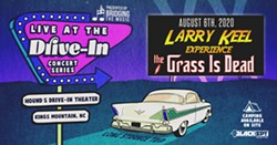 Larry Keel and The Grass is Dead Poster - Uploaded by Bridging The Music