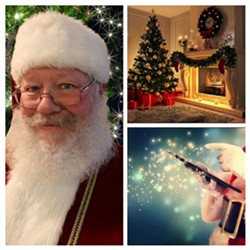 Virtual Santa Q and A Session with Bedtime Story - Uploaded by evvnt platform
