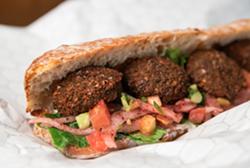Celebrate National Falafel Day at Yafo Kitchen - Uploaded by Callie Wamsley Langhorne