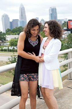 Lara Nazario (left) and Joanne Spataro (Photo by Jeff Hahne)