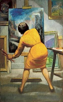 """Eugene Thomason's """"Art Student"""""""