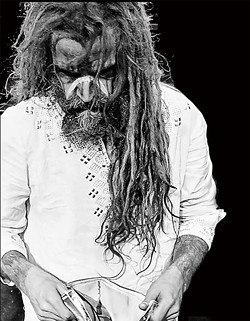 Rob Zombie performs at this year's Carolina Rebellion.