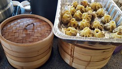 Dumplings from The Dumpling Lady. (Photo by Alison Leininger)