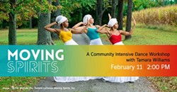 Moving Spirits: A Community Intensive Dance Workshop