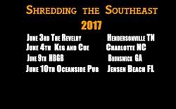 Shredding the Southeast Tour