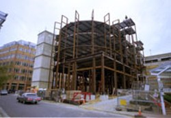 RADOK - UNDER CONSTRUCTION Johnson & Wales is set to - open in 2004