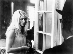 COURTESY OF THE CRITERION COLLECTION - UNINVITED GUEST: Catherine Deneuve in Repulsion.