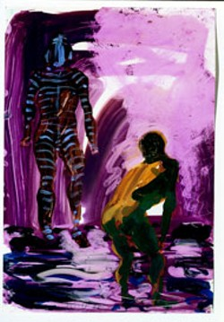 UNTITLED (STUDY FOR JAMAICA KINCAID) by Eric - Fischl