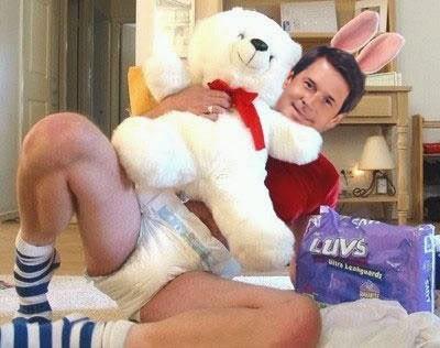 "U.S. Senator David ""Diaper Dave"" Vitter (R-Pampers)"