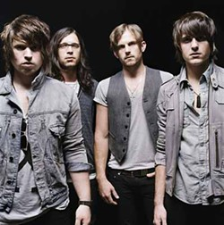 LEGO - 'USE SOMEBODY': Kings of Leon will play at Bojangles' Coliseum on April 30.