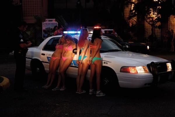 Vanessa Hudgens, Ashley Benson, Rachel Korine and Selena Gomez in Spring Breakers (Photo: A24)
