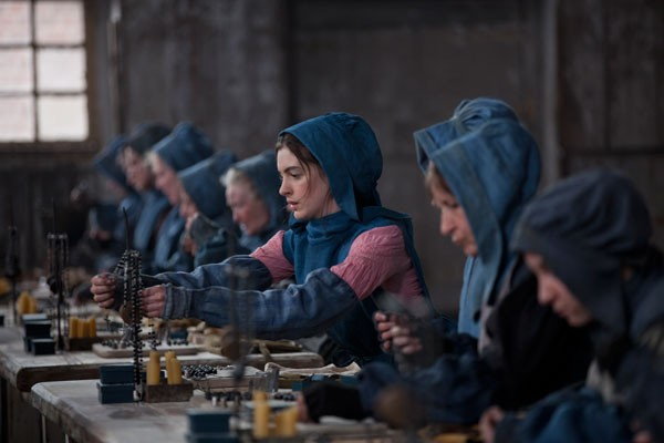 VICTIMIZED: Unless misogyny managed to take a foothold, Anne Hathaway should easily win for her excellent work in Les Misérables.  - UNIVERSAL