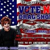 Vote NO drag show at Hartigan's Pub
