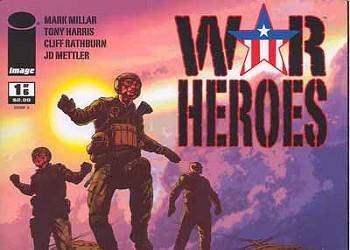 War Heroes No. 1, Conan: The Cimmerian No. 1, Justice Society of America Annual No. 1