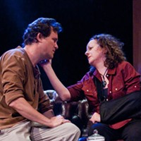 WAR VETS: Eric Tucker and Elise Wilkinson in Time Stands Still