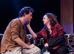 AUSTIN CAINE - WAR VETS: Eric Tucker and Elise Wilkinson in Time Stands Still