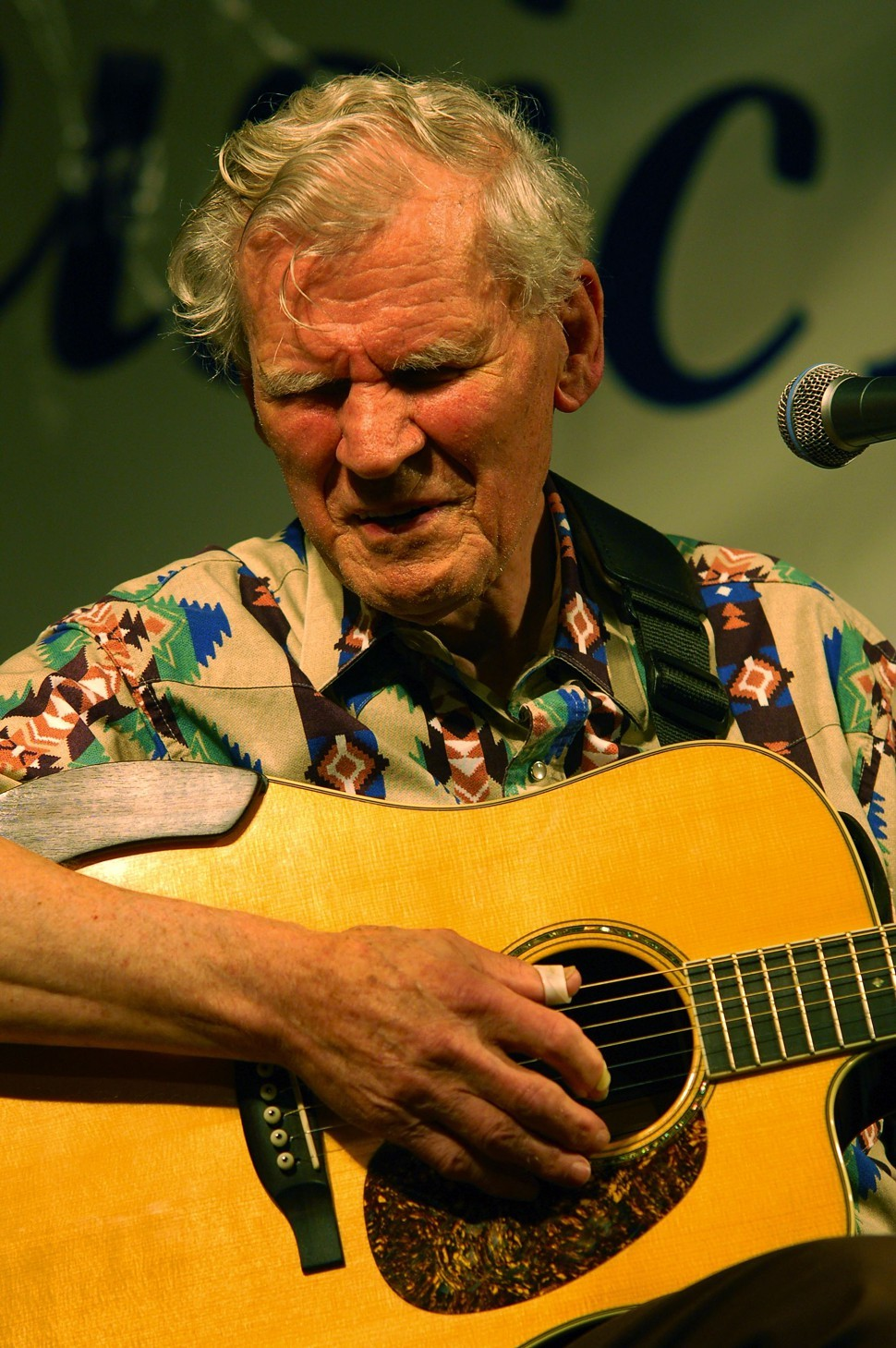 Watson at the Sugar Grove Music Festival in 2009
