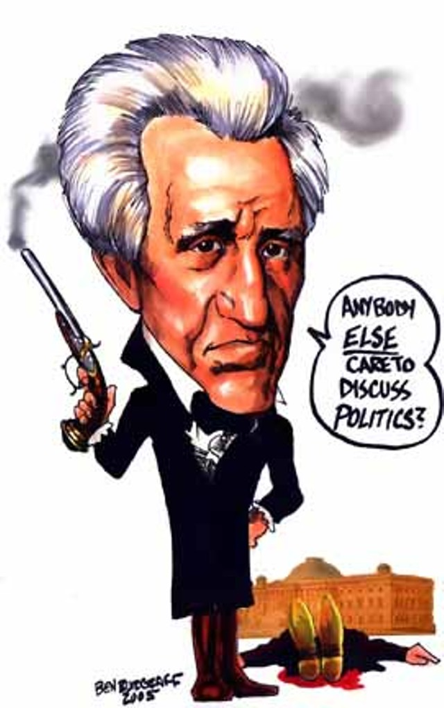 the life and political career of president andrew jackson of the united states —president andrew jackson rechartering the second bank of the united states the political considerations that influenced career, and civic life.