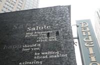 Weekend Wonders: Poetry graffiti in Uptown