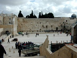 ATPM.COM - WEEPING: The Western Wall