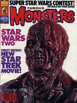 MGM; WARREN PUBLISHING - WHAT A MESS: The Incredible Melting Man on the cover of Famous Monsters of Filmland; incidentally, the first issue I ever owned of that illustrious magazine.