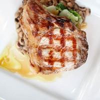 WHAT A PORKER: Pork chop entrée