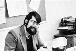 COURTESY OF HAMPDEN HIGH SCHOOL - WHAT'S IN A NAME?: Richard Bachman (a.k.a. Stephen King) in 1973