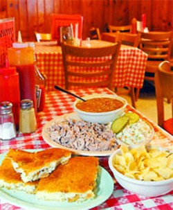 JAMES CAMP - WHERE THERE'S SMOKE The cracklin' cornbread at Harold's reminds the author of his mother's