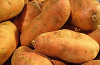 Where to find: Sweet potatoes and yams