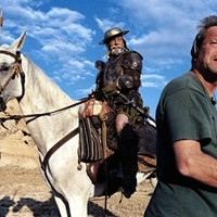 WHERE'S SANCHO PANZA WHEN YOU NEED HIM? Jean Rochefort and Terry Gilliam, both Lost In La Mancha