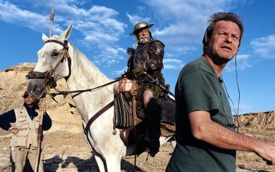 WHERE'S SANCHO PANZA WHEN YOU NEED HIM? Jean Rochefort and Terry Gilliam, both Lost In La Mancha - IFC FILMS