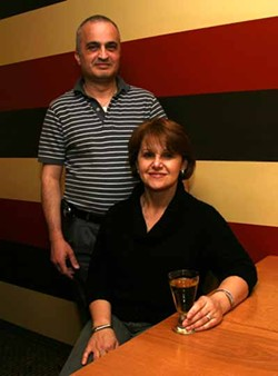CATALINA KULCZAR-MARIN - WHERE'S THE GENIE?: Liliane (left) and Elie Richa, owners of Aladdin's Eatery