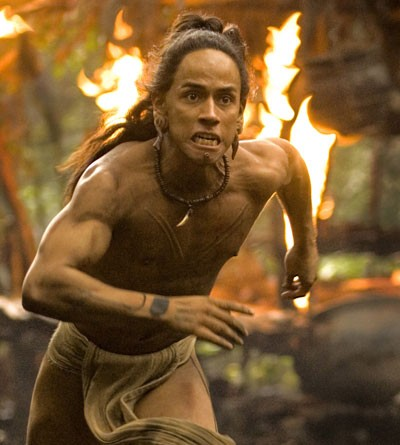 ...while Rudy Youngblood headlines the brutal Apocalypto.