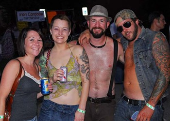 White Trash Party, 8/28/10