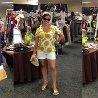 Who won the Green Jeans Consignment Stylist contest?