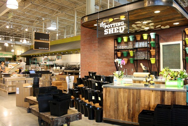 Whole Foods supports whole living