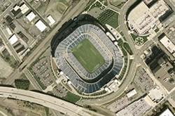 Will 99 percent improve Bank of America Stadium for 1 percent?