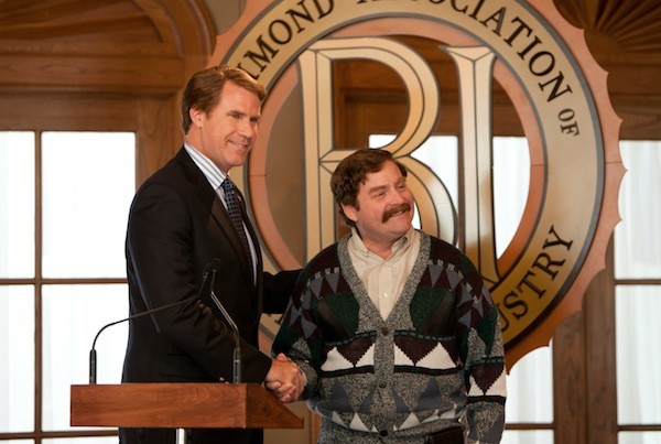 Will Ferrell and Zach Galifianakis in The Campaign (Photo: Warner Bros.)