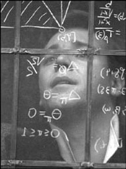 UNIVERSAL - WINDOW TO THE SOUL Russell Crowe delivers an - impassioned  performance in A Beautiful Mind