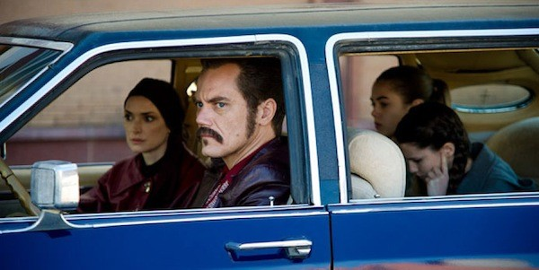 Winona Ryder (left) and Michael Shannon in The Iceman (Photo: Millennium Films)