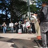 Students, medical professionals and environmental activists deliver united message to BofA: Stop funding coal