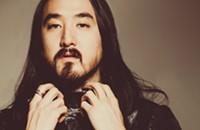 Steve Aoki is in the house