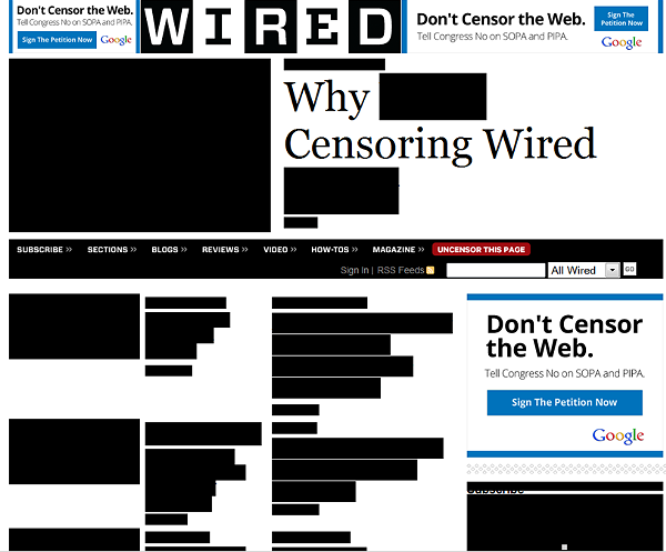 Wired is making a statemen without saying much