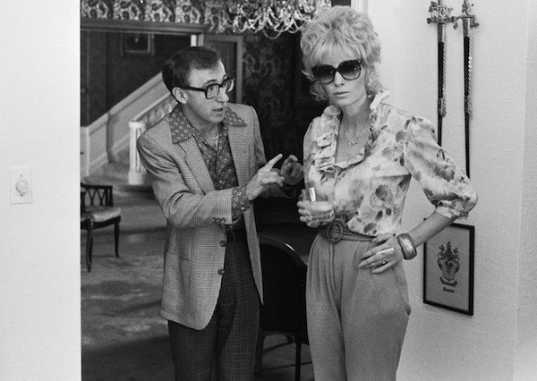 Woody Allen and Mia Farrow in Broadway Danny Rose (Photo: Twilight Time)