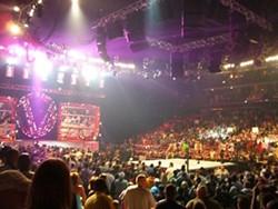 CHARLOTTE CASON - WWE at the Bobcats Arena