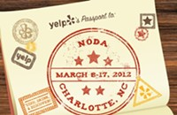 Yelp's Passport to NoDa for the food and drinks
