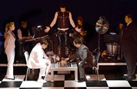 Games abound in Queen City Theatre Company's <b><i>Chess</i></b>