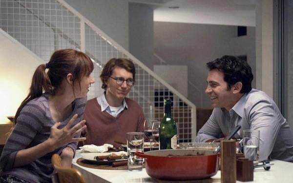 Zoe Kazan, Paul Dano and Chris Messina in Ruby Sparks (Photo: Fox)